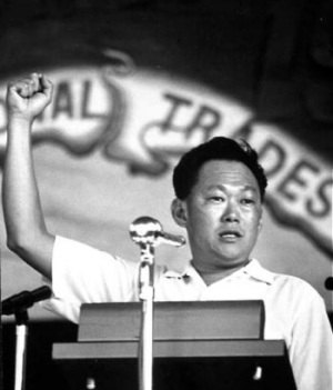 Lee Kuan Yew in the 1960s