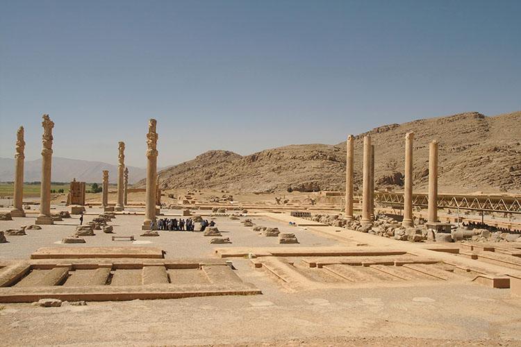 The Apadana Palace, Persepolis, Iran, 2008.