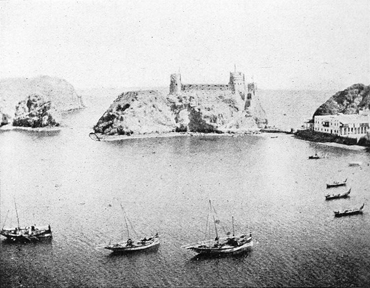 Muscat harbour, 1903.