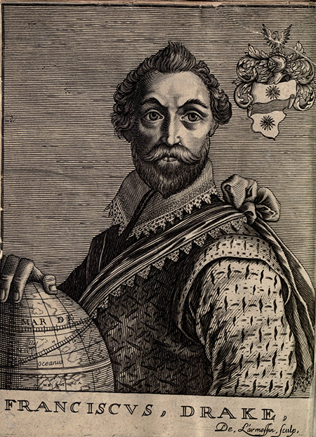 Francis Drake, 1652. Courtesy University of California Libraries