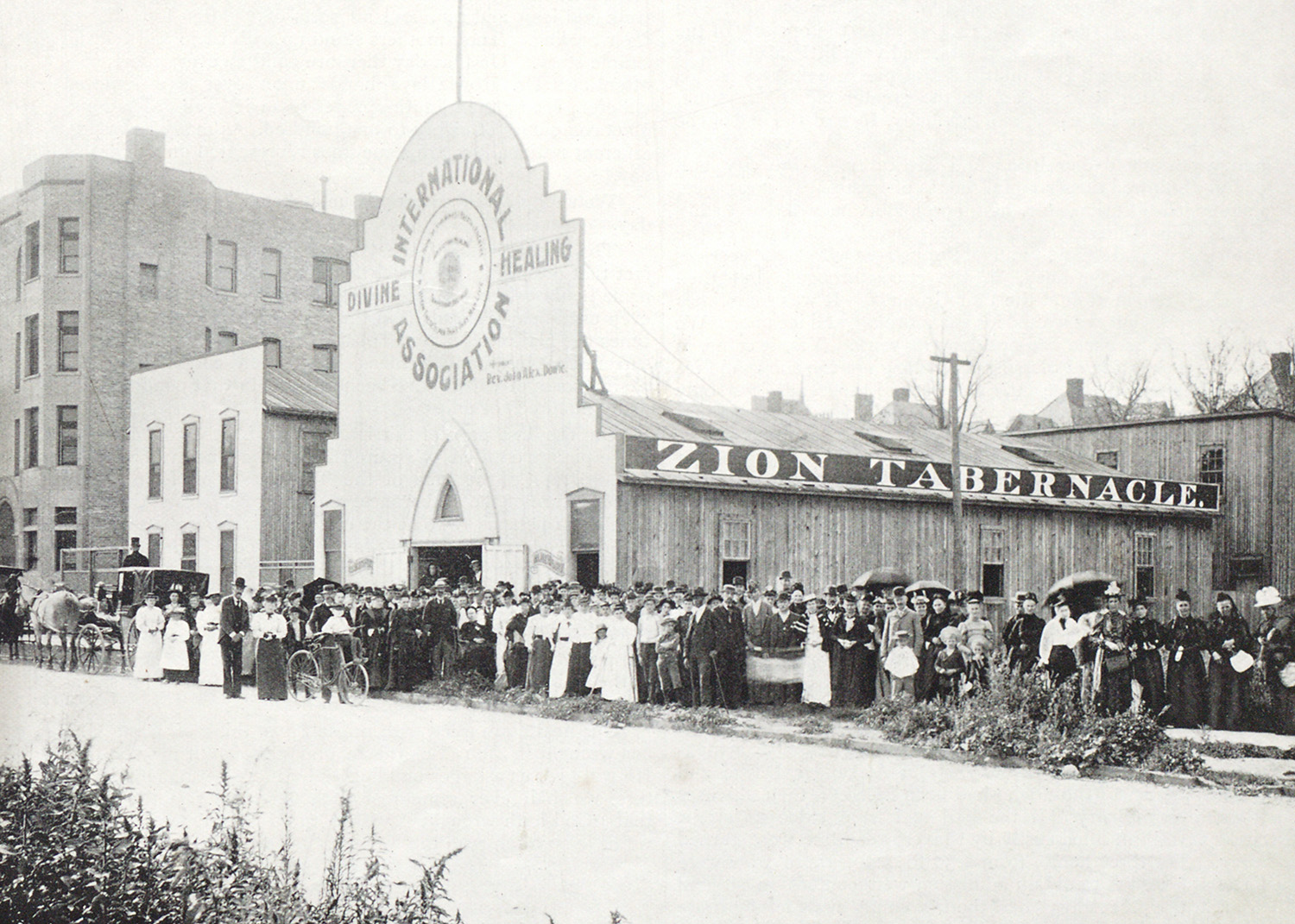 Zion Tabernacle, 31 August 1894, courtesy Flower Pentecostal Heritage Centre, Springfield, Missouri.
