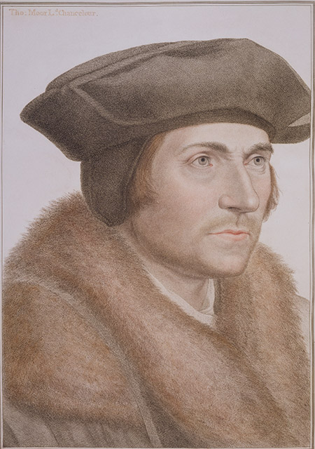 Thomas More, by Hans Holbein the Younger.