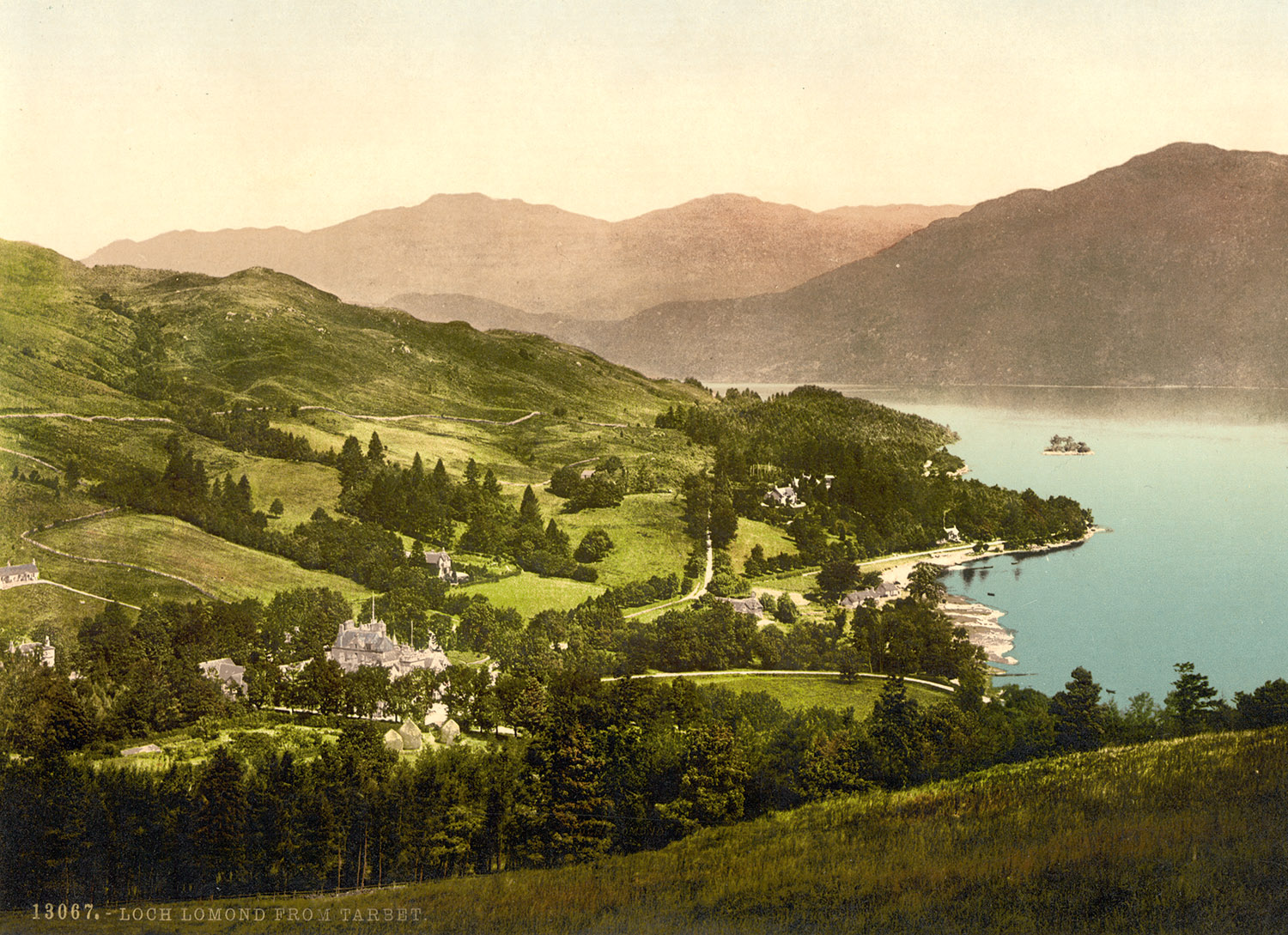 Loch Lomond from Tarbet, Scotland, 1890s.