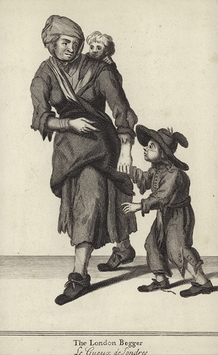 The London Beggar, 17th century. © Bridgeman Images