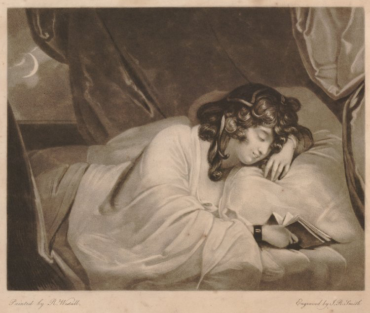 The Dream, R. Westall, 1791.