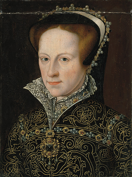 Mary Tudor, contemporary portrait.