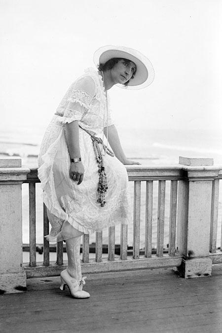 Italian soprano Amelita Galli-Curci c.1920. © Bridgeman Images.