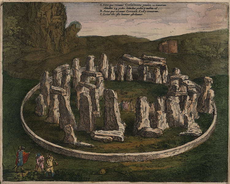 In Memoriam? Stonehenge by Jan Janssonius, 1646.