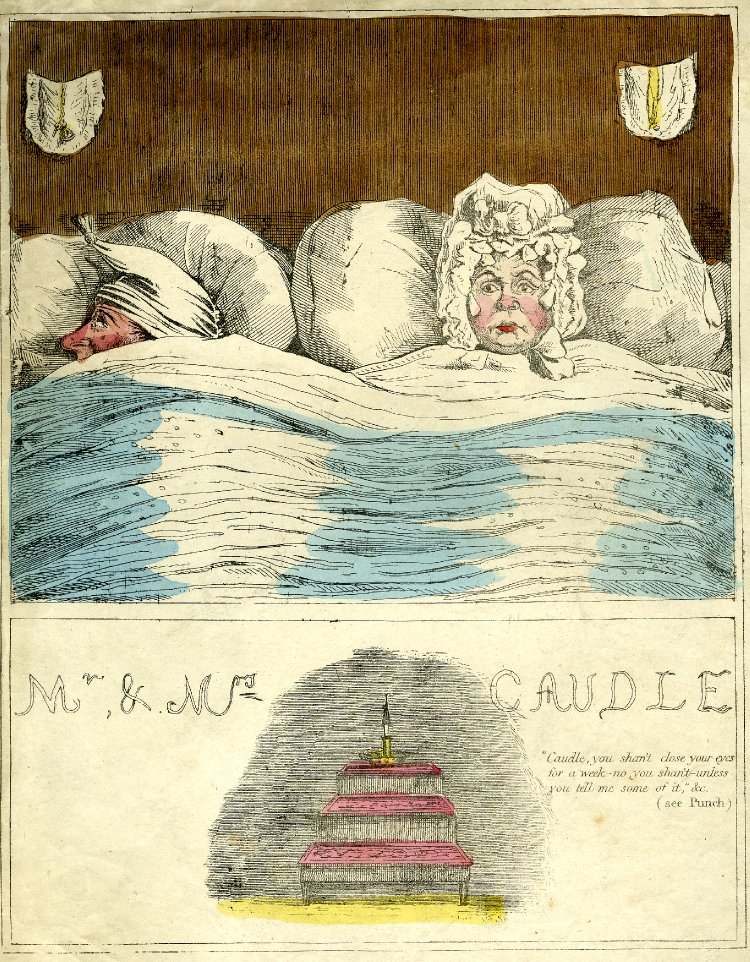 'Mr & Mrs Caudle', published in 'Punch', 1845-50.