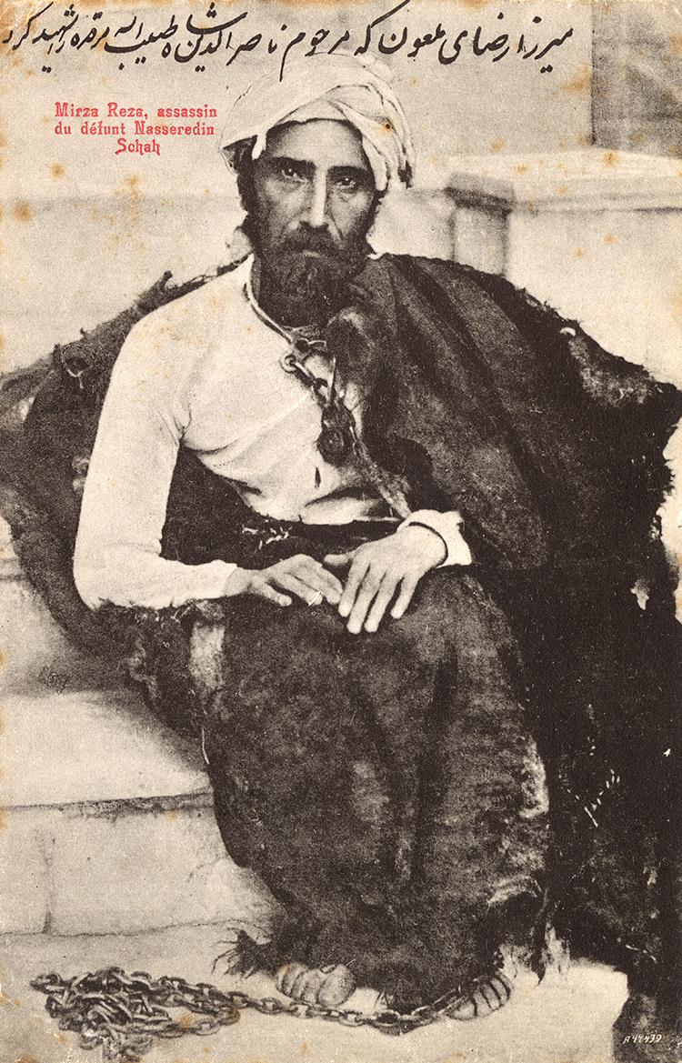 Mirza Reza Kermani, 1896.