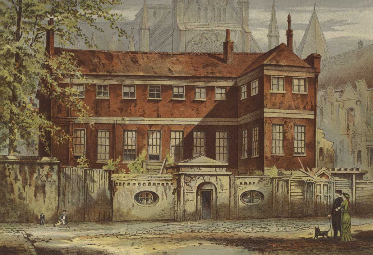 Ashburnham House, Old London, by Waldo Sargeant, 1900 © Bridgeman Images.