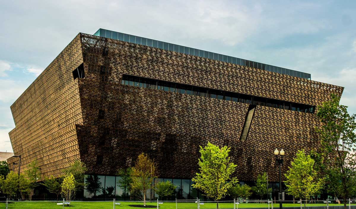'The best museum? The National Museum of African American History and Culture in Washington, DC.' Image: Wiki Commons.