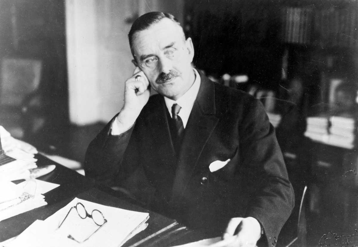 Thomas Mann, author of The Magic Mountain, 1930 © Ullstein Bild/Getty Images.