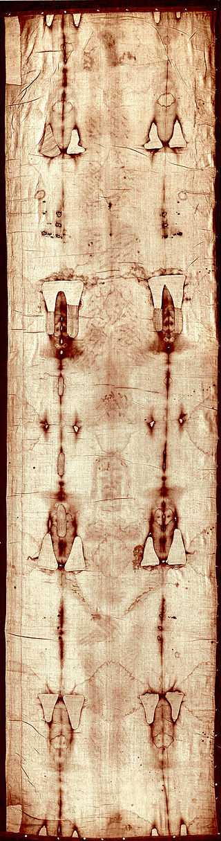 Giuseppe Enrie's 1931 photo of the Shroud