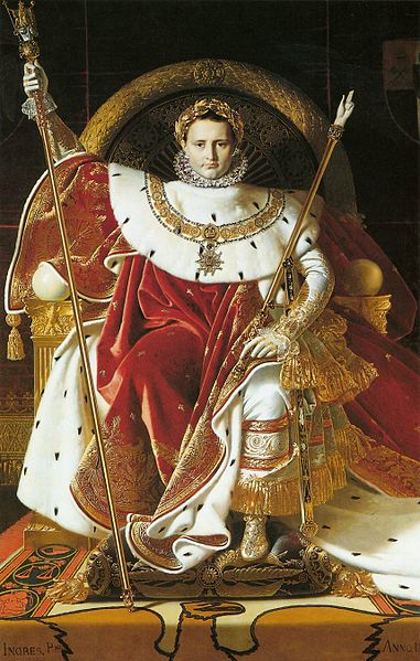Napoleon I on the Imperial Throne