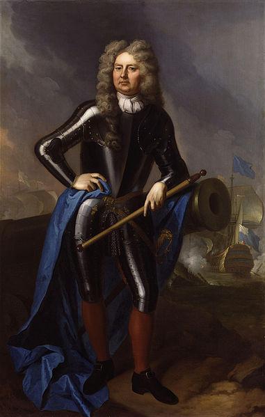 'Sir Clowdisley Shovell' by Michael Dahl, c.1702