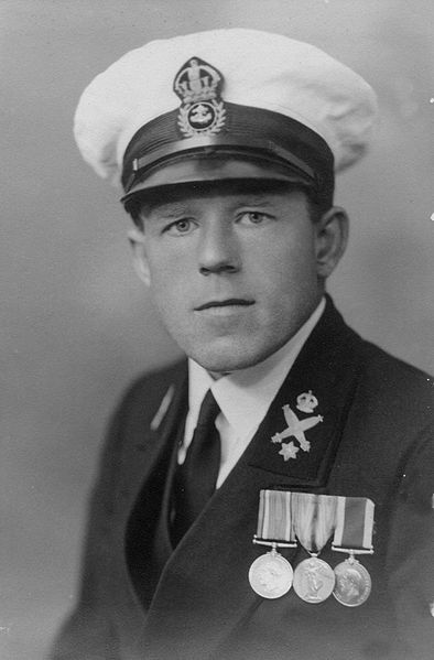 Claude Choules photographed in 1936. Until his death in May 2011 he was the last surviving WW1 combat veteran in the world.