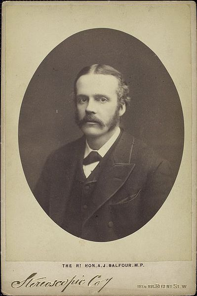 Balfour early in his career.