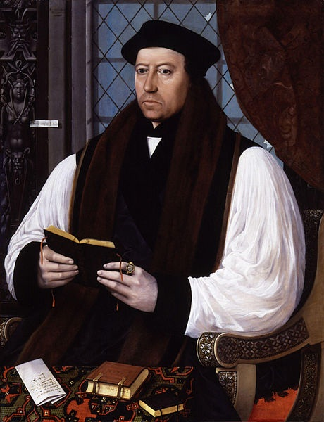 Thomas Cranmer by Gerlach Flicke, National Portrait Gallery
