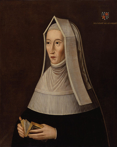Lady Margaret Beaufort at prayer.