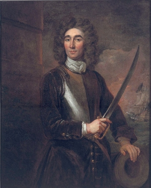 John Benbow in 1701, by Sir Godfrey Kneller.
