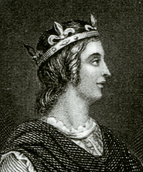 King Edwy (or Eadwig), detail of engraving after unknown artist, late 18th-early 19th century.