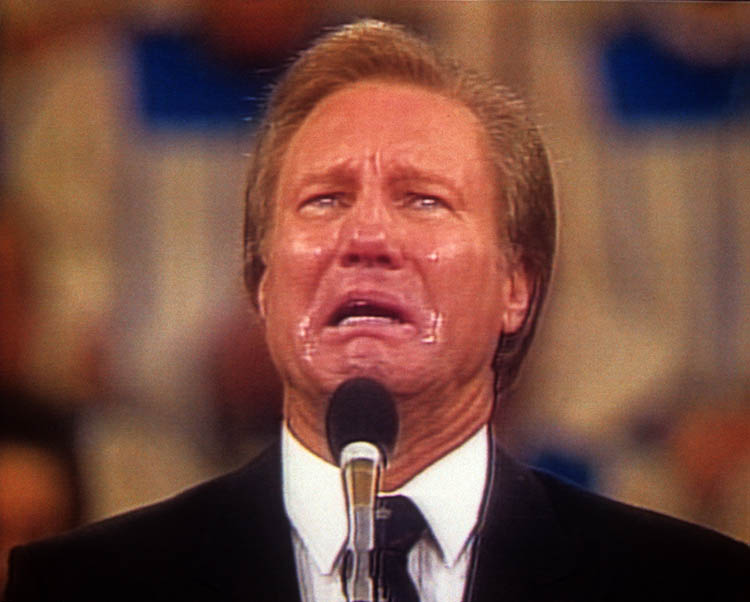 Cry Baby Cry: Jimmy Swaggart confesses his relationship with a prostitute, 1988.