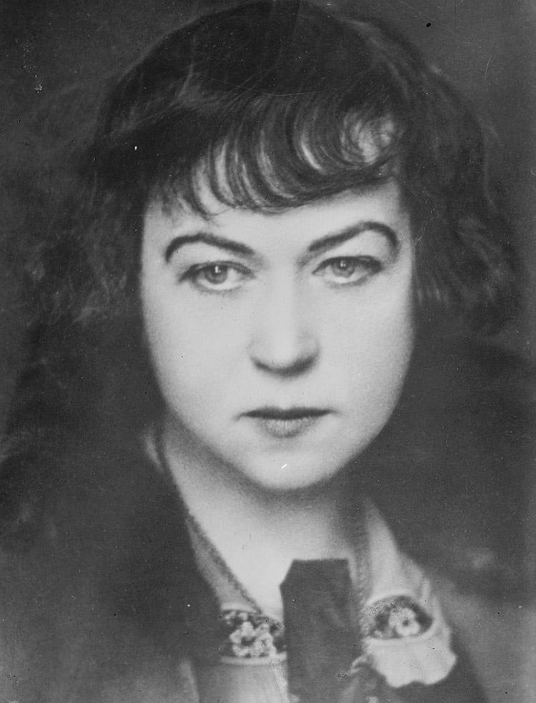 Alexandra Kollontai (1872-1952).