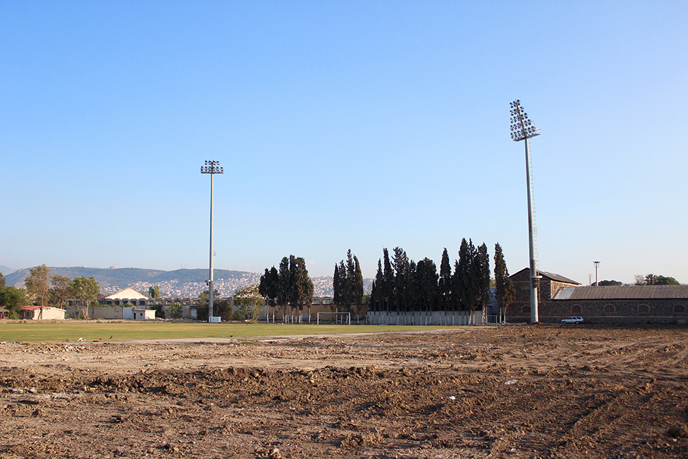 Alsancak Stadium, October 2015. Photo: Patrick Keddie