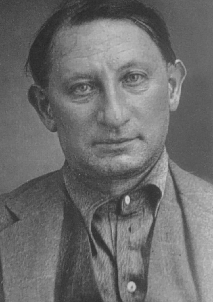 David Petrovsky's prison photo, 1937.