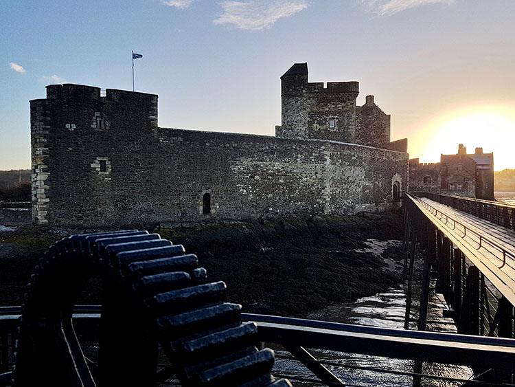 Blackness Castle. (David C. Weinczok)