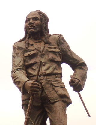 Statue of Dedan Kimathi in Nairobi