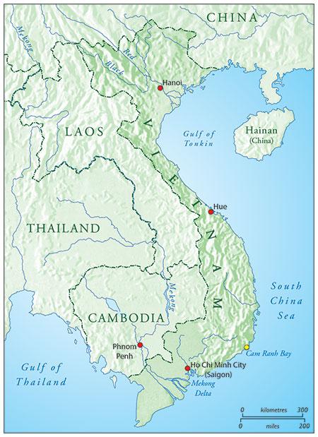 Map by Tim Aspen, based on an original map courtesy Penguin Random House