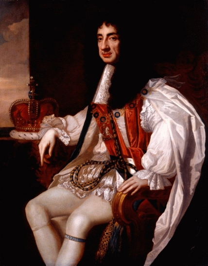 Portrait of Charles II by Sir Peter Lely