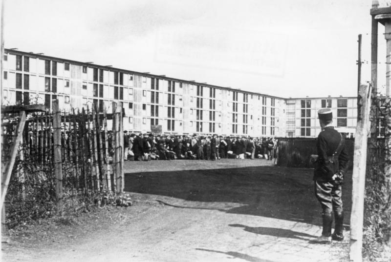Drancy camp, August 1941.