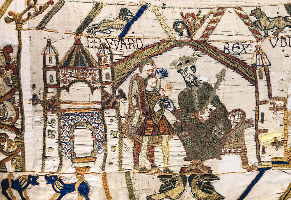 Edward the Confessor sends Harold to Normandy.