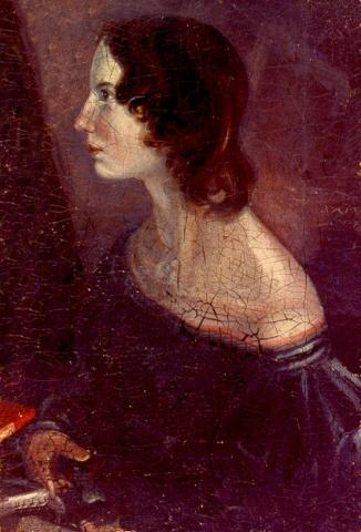A portrait of Brontë made by her brother, Branwell Brontë