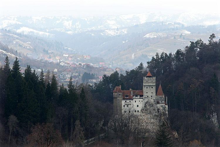 Замок Бран, март 2013 г.