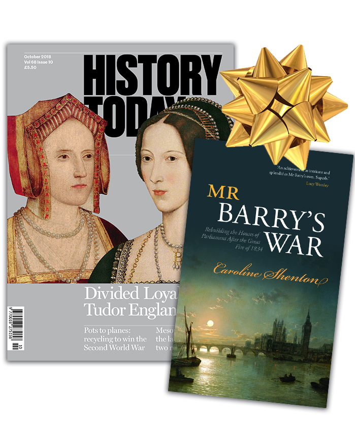 History Today Gift Subscription Offer - Free Book