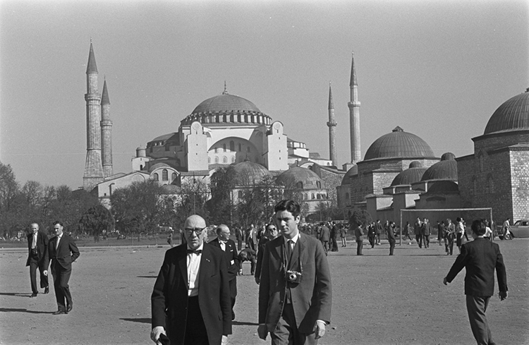 Hagia Sophia in Istanbul, October 1959.