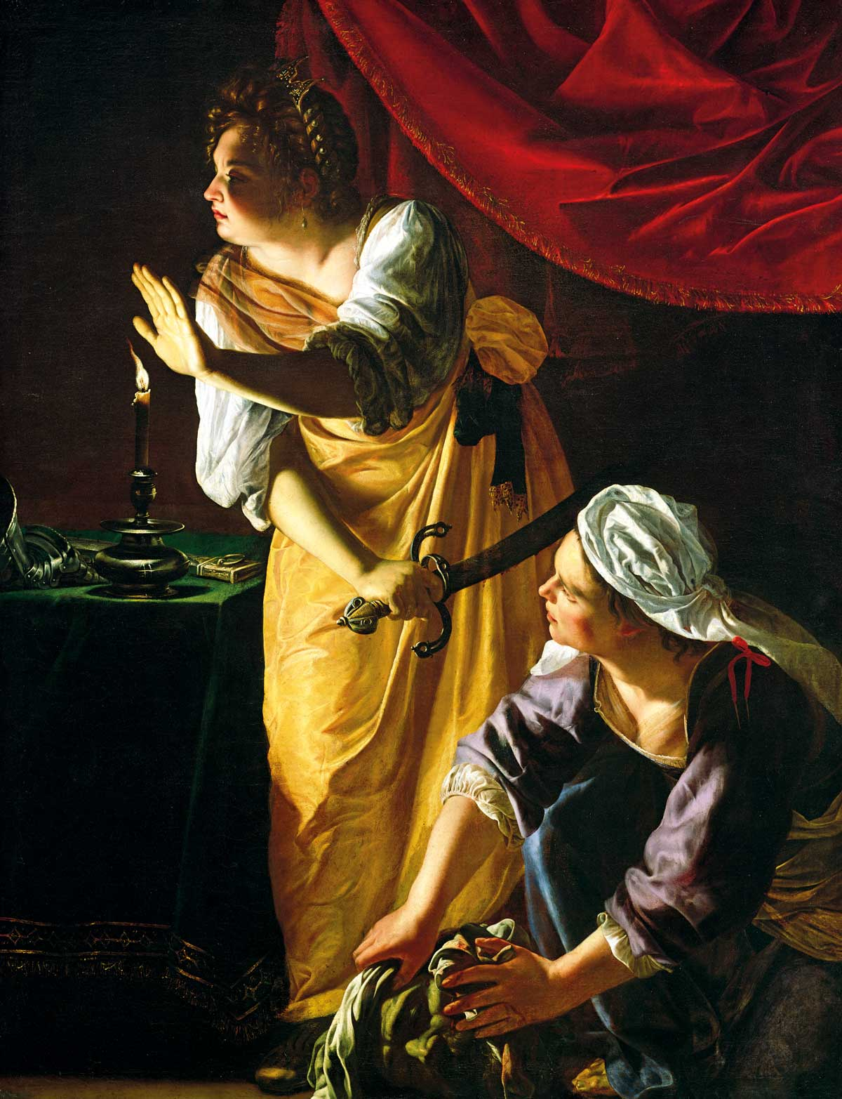 'Judith and Maidservant with the Head of Holofernes', by Artemisia Gentileschi, c.1625, Detroit Institute of Arts © Detroit Institute of Arts/Gift of Mr Leslie H Green/Bridgeman Images.
