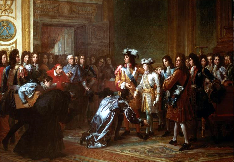 Recognition of the Duke of Anjou as King of Spain, under the name of Philip V, 16 November 1700, François Gérard.