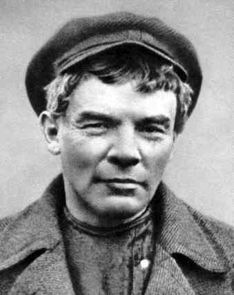 The 35-year-old Lenin in Finland in 1905