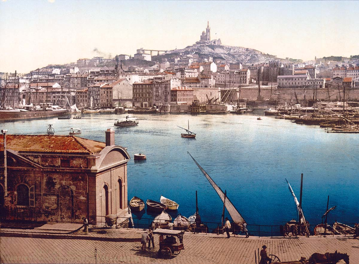 Old Port of Marseille, c.1895 © akg-images.