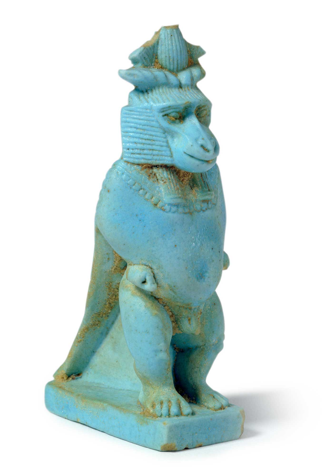 Egyptian monkey statue, c. 1st century AD Courtesy of the Metropolitan Museum of Art