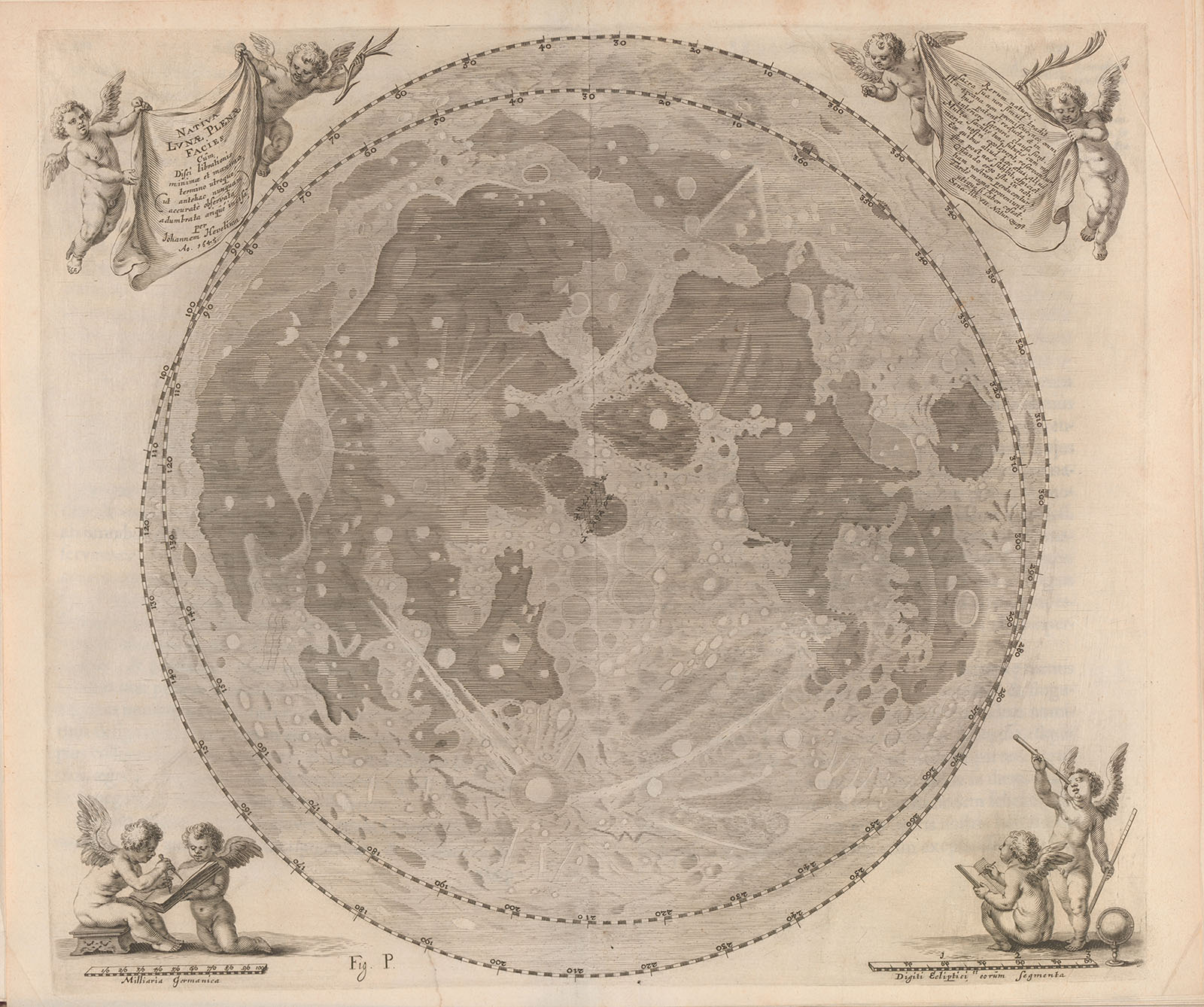 The Map: The Moon, 1647 | History Today