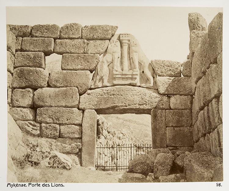 Lion Gate, Mycenae.