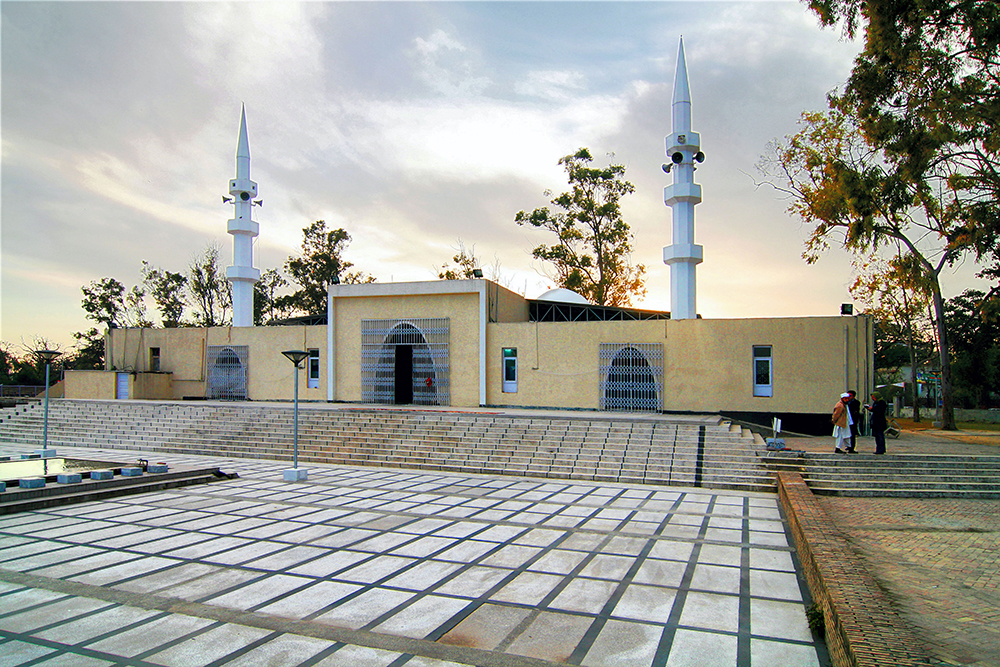 Red Mosque, Islamabad, 2008.
