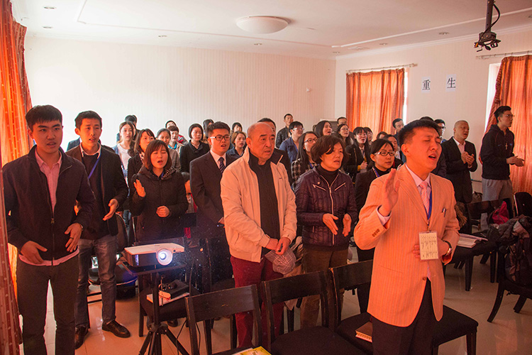 A house church in Shunyi, Beijing, April 2015.