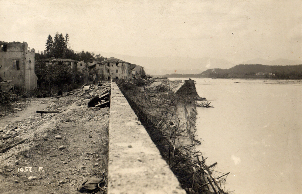 Italian line at the River Piave.